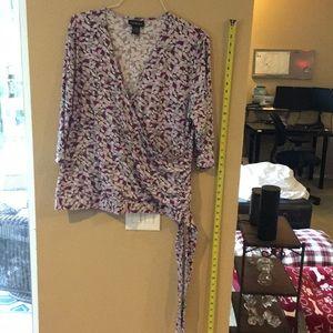 Lane Bryant 3/4 length sleeve blouse